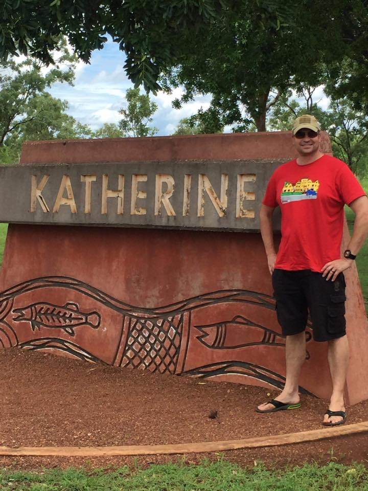 James Llewellyn in Katherine, NT
