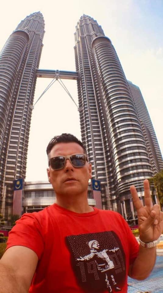 Chris in Kuala Lampur