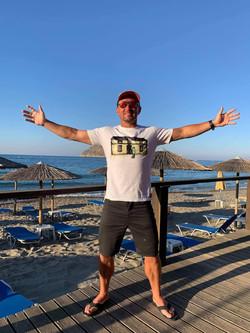 Neil in Crete