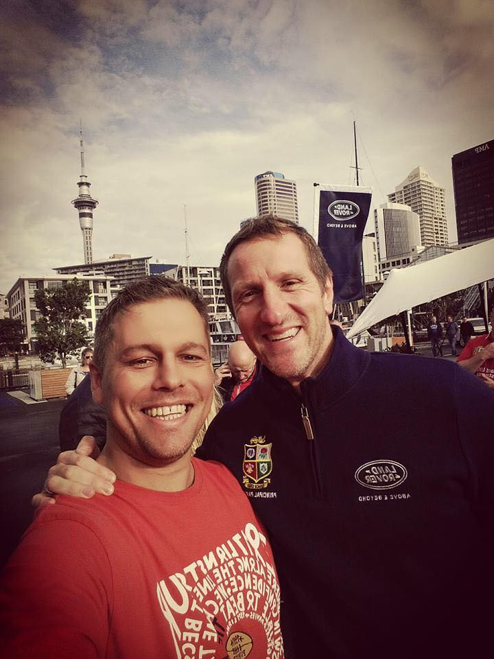 Will Greenwood Auckland