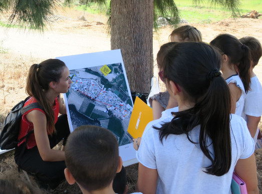 Leyendo el territorio con las niñas y los niños de la Bazana