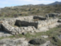 Iron Age Buildings at Ulaca