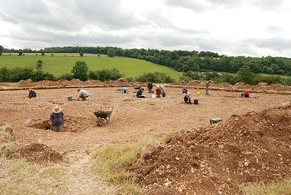 Bagendon excavations 2015