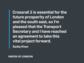 Crossrail 2 - joint statement between Mayor of London and Transport Secretary