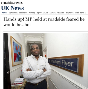 The Times interview on stop and search