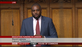London education funding debate
