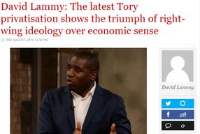 LabourList article on Land Registry privatisation