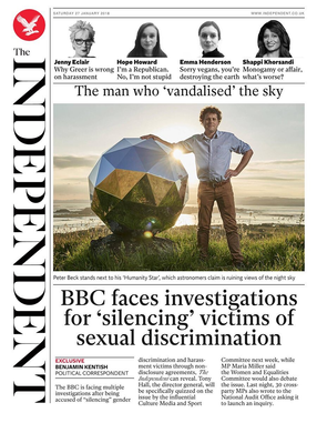 Calling for an inquiry into BBC NDA's