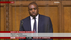 Question on safety in prisons