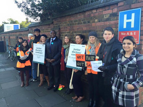 Backing the Junior Doctors' Strike