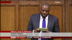 Speech on mental health services in Haringey