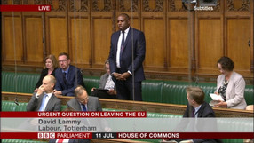 Urgent Question on Article 50 and Brexit