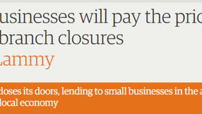 Guardian article on Lloyds branch closures