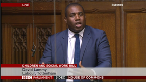 Children and Social Work Bill
