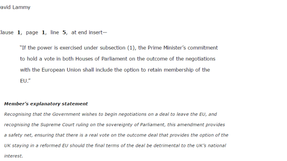 Article 50 - Committee Stage