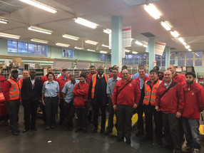 Tottenham Royal Mail Delivery Sorting Office Visit