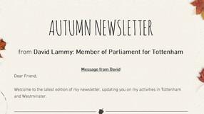 Autumn 2015 Newsletter