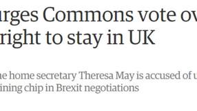 Statement on EU nationals debate