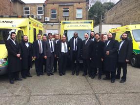 Visit to Hatzola Ambulance Service