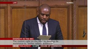 Speech on BBC Diversity
