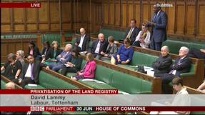 Land Registry debate