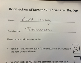 GENERAL ELECTION ANNOUNCEMENT