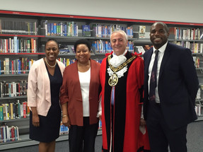 Opening Marcus Garvey Library