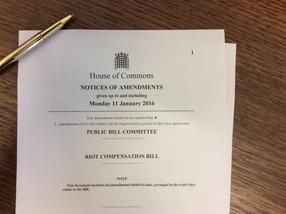 Riot Compensation Bill