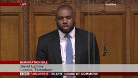 Immigration Bill debate