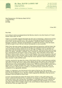 My letter to Barclays re the closure of the Harringay Green Lanes Branch