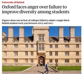 Oxford University admissions