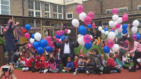 Opening of new playground at Seven Sisters Primary School