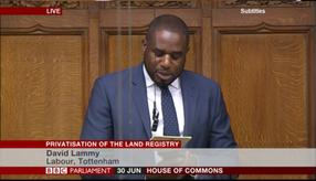 Land Registry speech