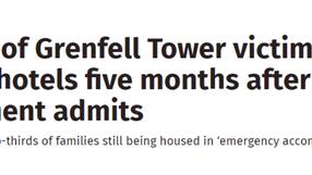 Revealing Grenfell rehousing failures
