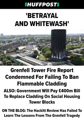 My response to the post-Grenfell Hackitt Review