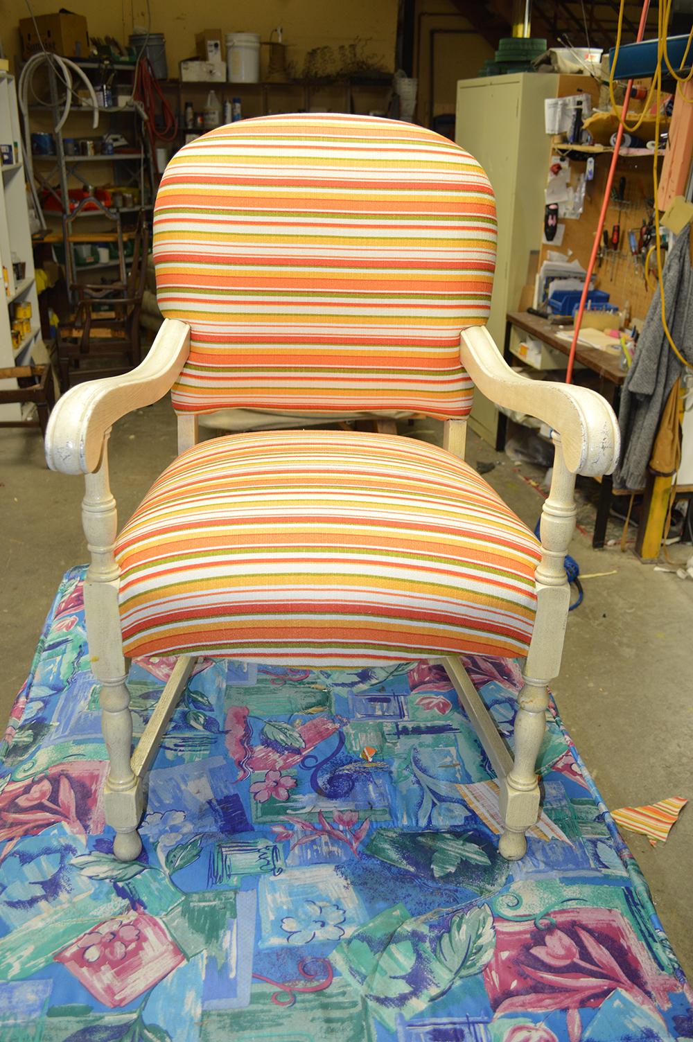 Chaise Antique - Après