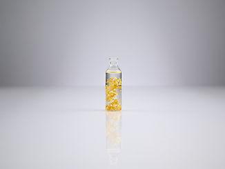 Carat23 - bladgoud flesje