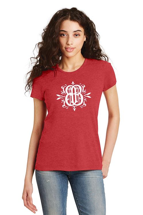 BB Signature Logo Ladies Tee