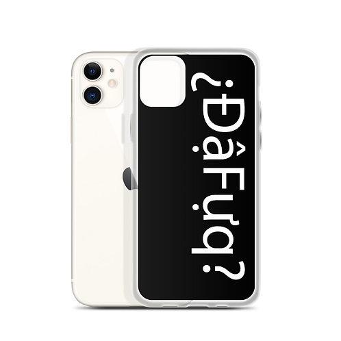 Dafuq iPhone Case