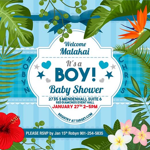 Malakai Bby Shower