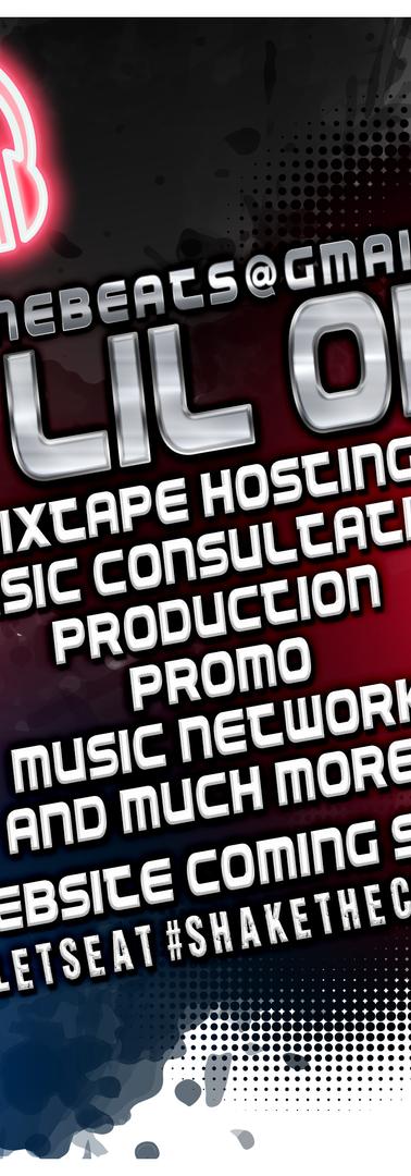 DJ Hosting Flyer