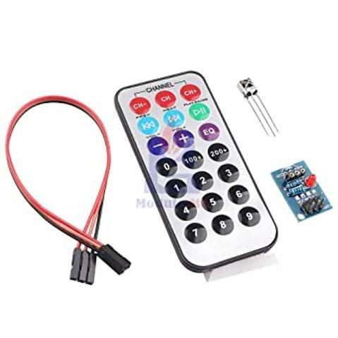 Sensor Infravermelho + Controle Remoto HX1838