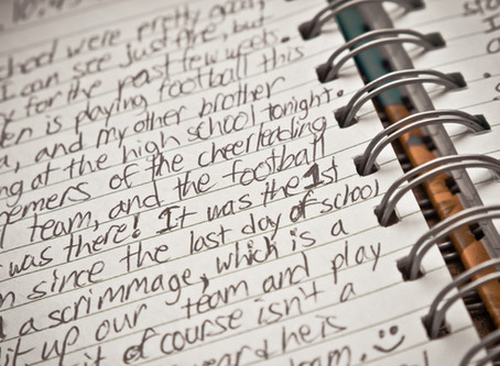 Journaling to improve your mental game and ease anxiety