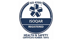 ISO45001 Health and Safety logo Traffic Management