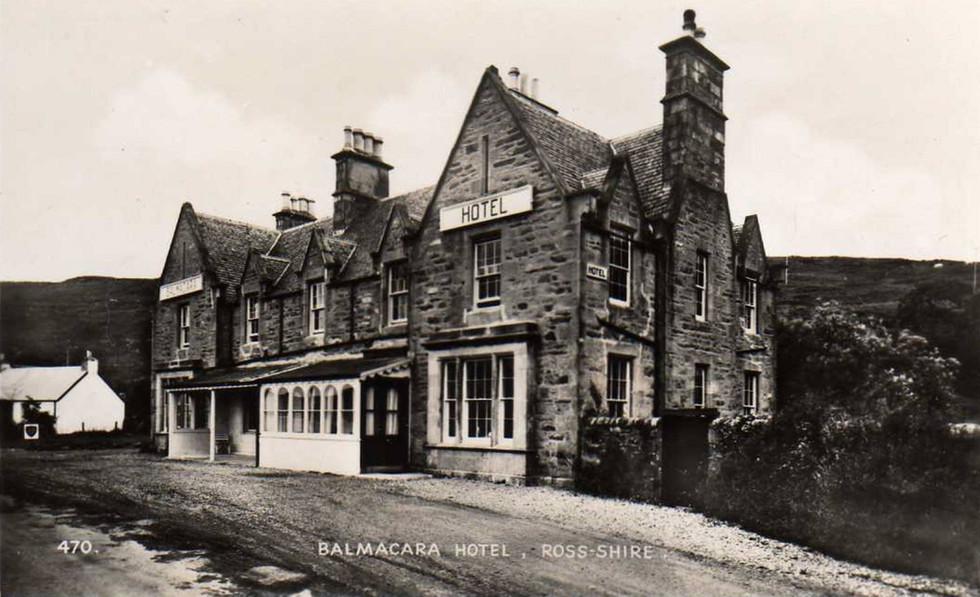 Old Pic Balmacara Hotel