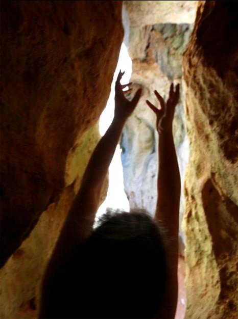 cueva del Cañon de Rio Lobos. Soria