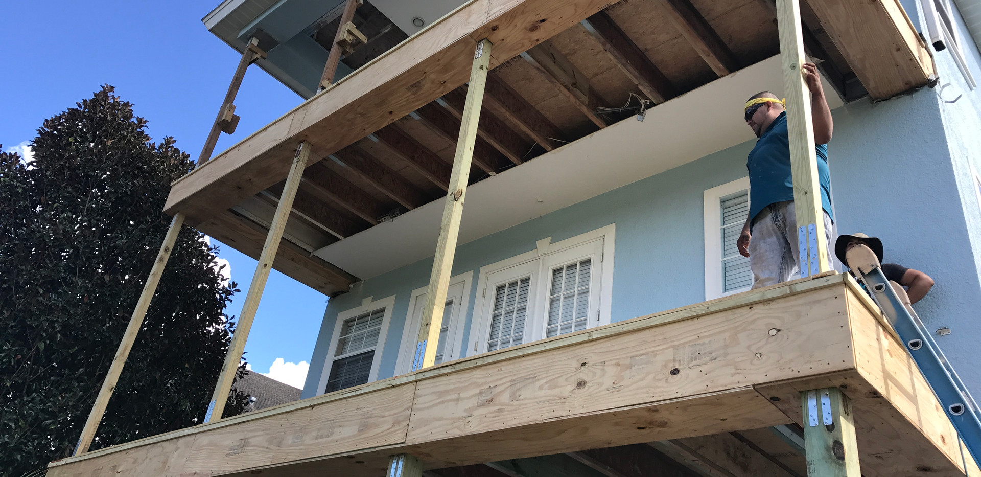 Multilevel Balcony Replacement