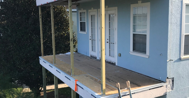 Multilevel Balcony Replacement