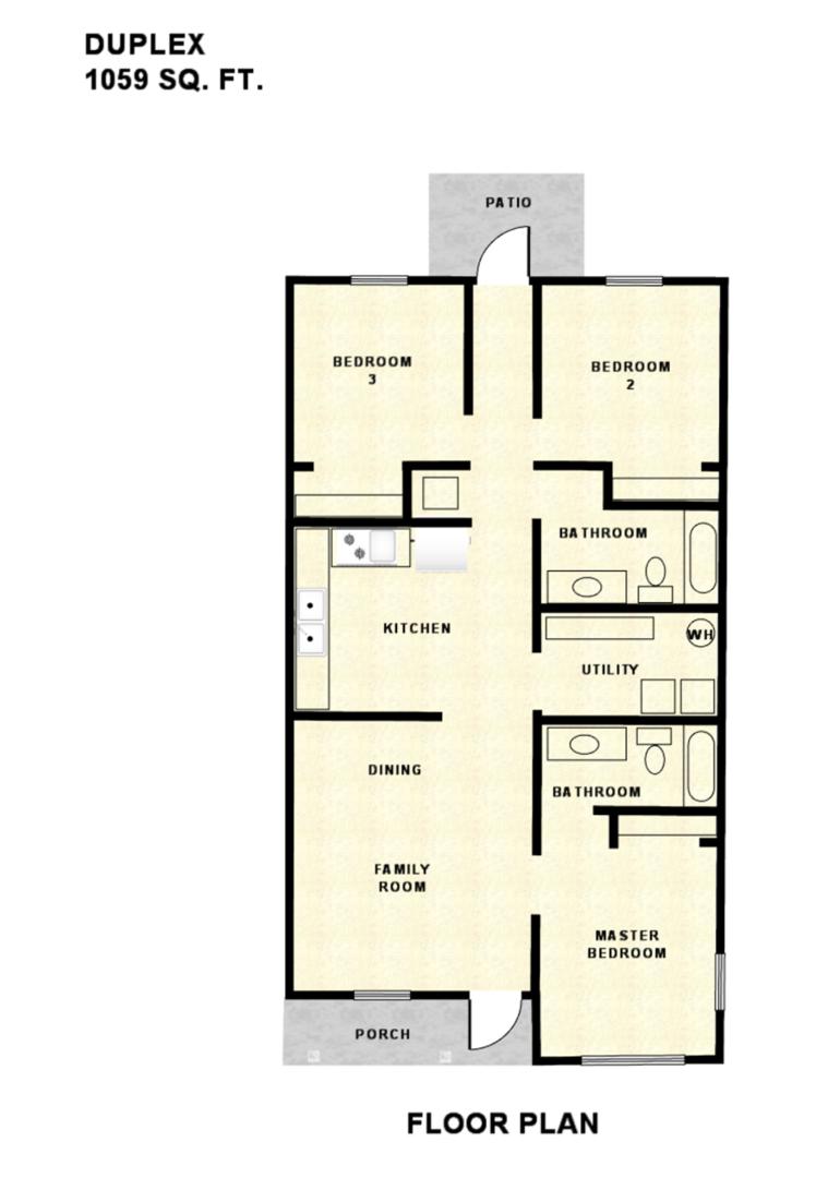 Duplex Floorplan