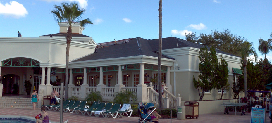 Summer Bay Resort Roof Before